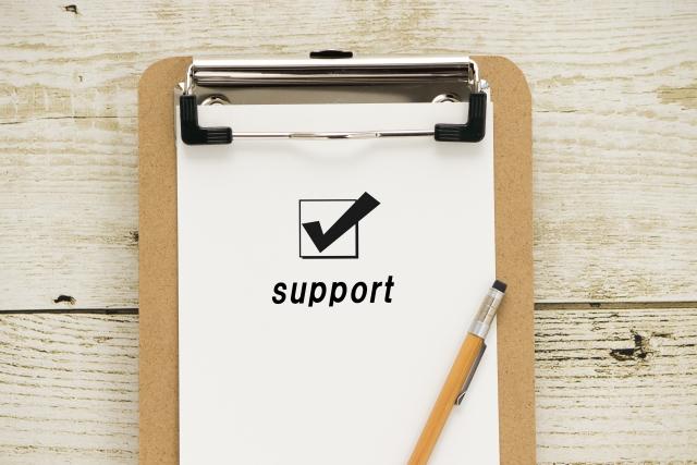 個人事業主様の質問に対するサポートとして回答