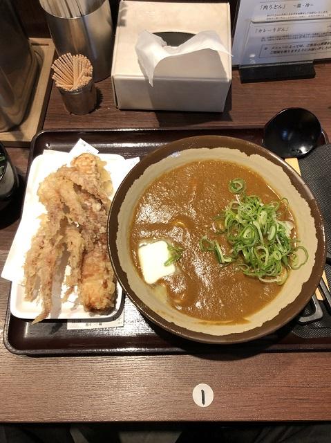 香川一福神田店のカレーうどん