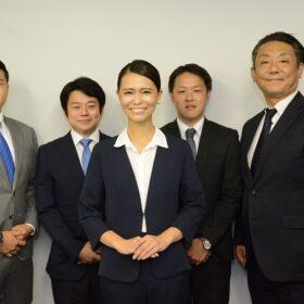 株式会社トップ・マネジメント第1営業部スタッフ集合写真